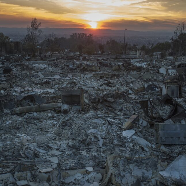 Tubbs Fire aftermath water