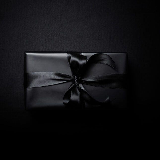 Black Friday gift box end-of-life conversations
