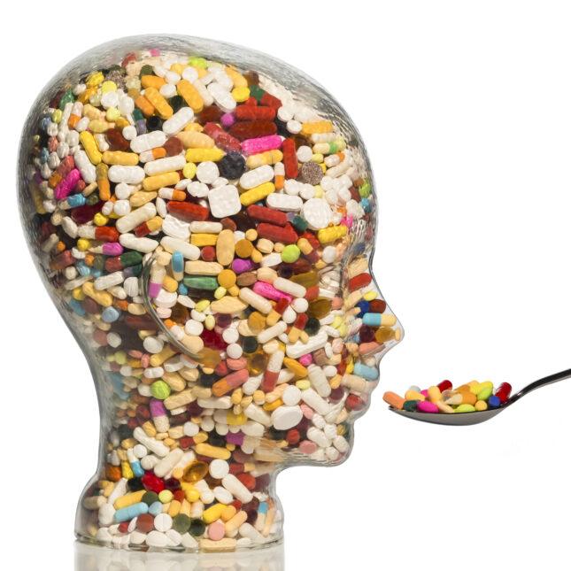 pill head antibiotics
