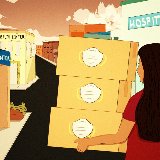 Freelance Mask Box