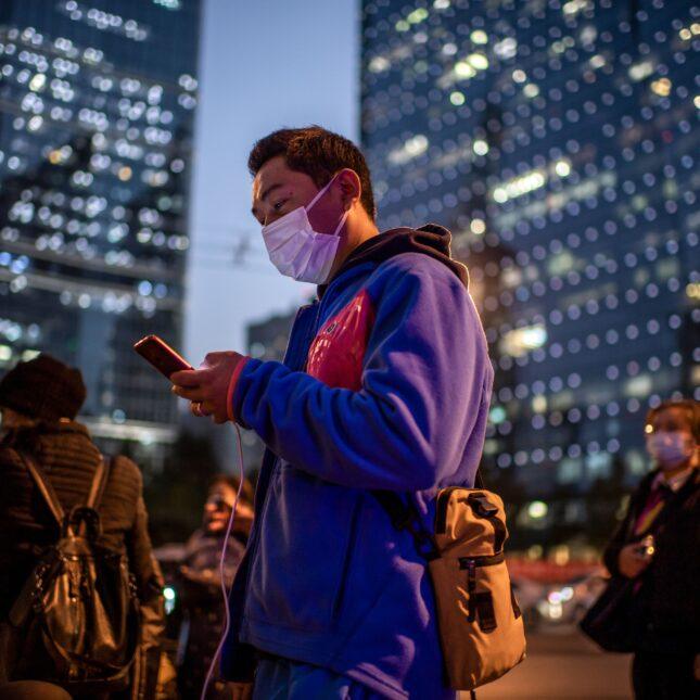 China facemask Covid
