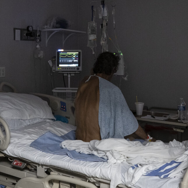 TX covid patient