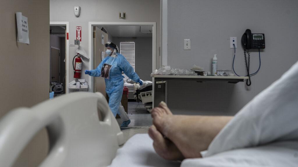 Covid patient care -- TX ICU