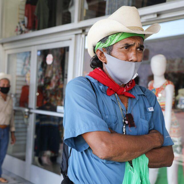 Mask wearing rural