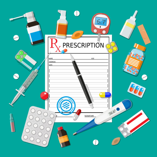 rx prescription meds prior authorization