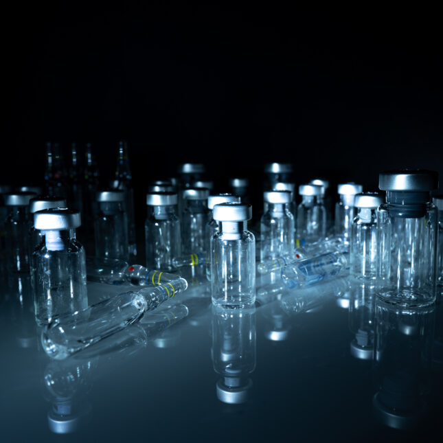 glass ampoules & vials
