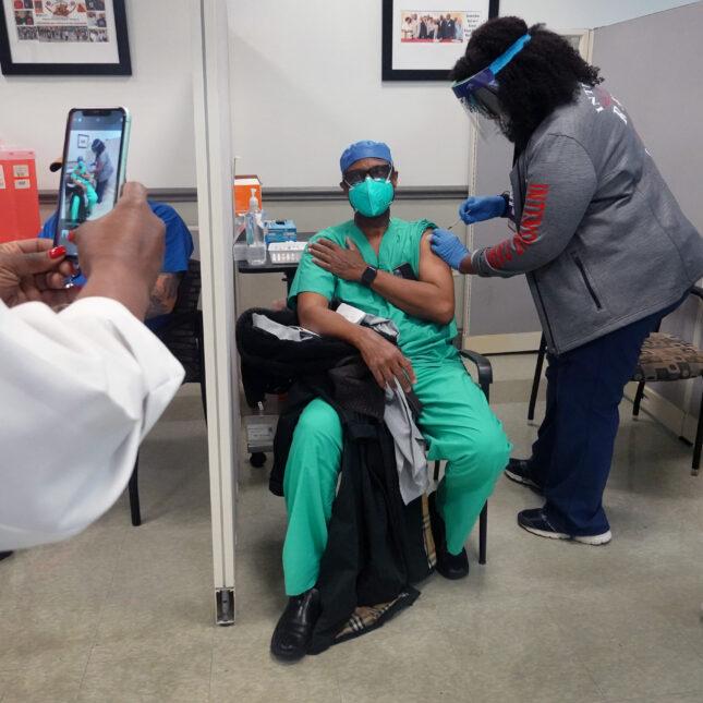 Social media vaccination
