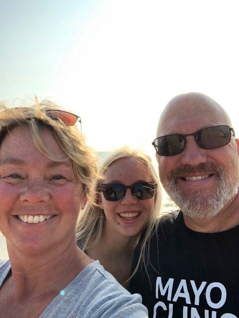 Dan, Lisl, and Kylie Keuning