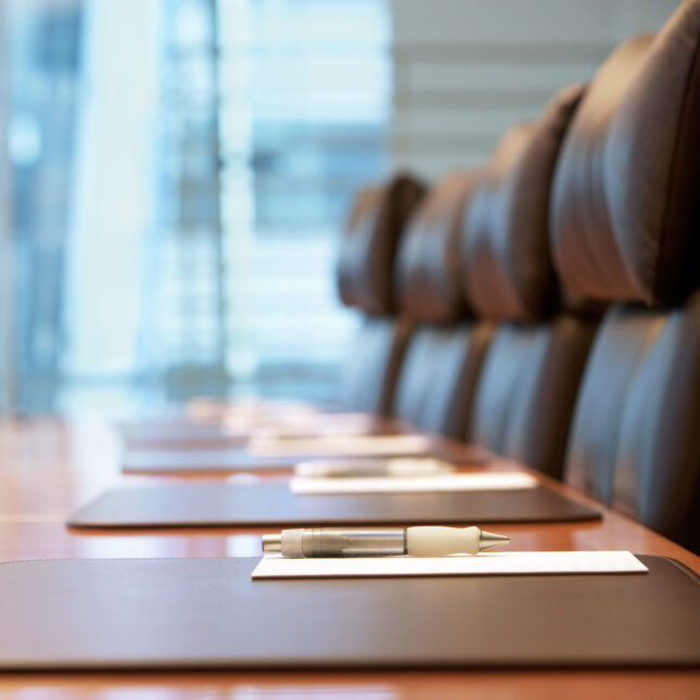empty conference room scientific advisory committees