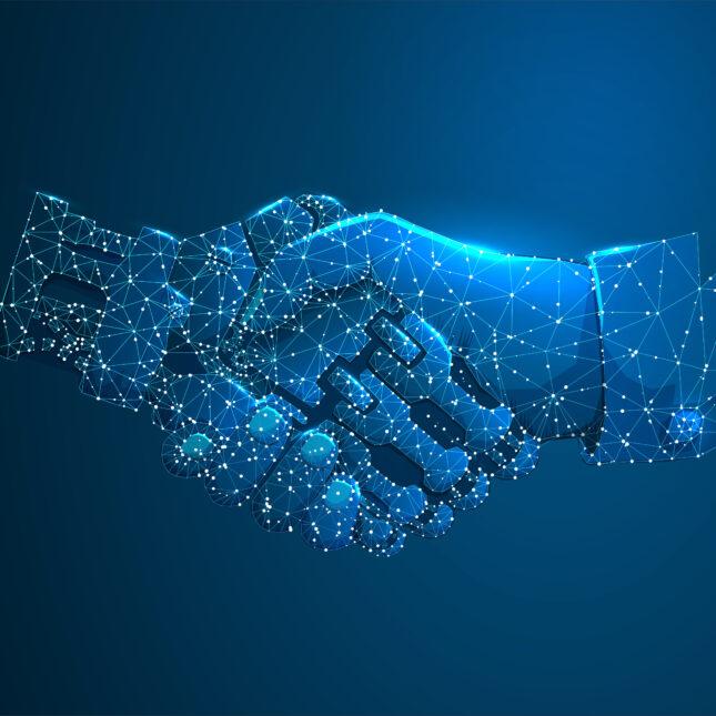 human/ai handshake