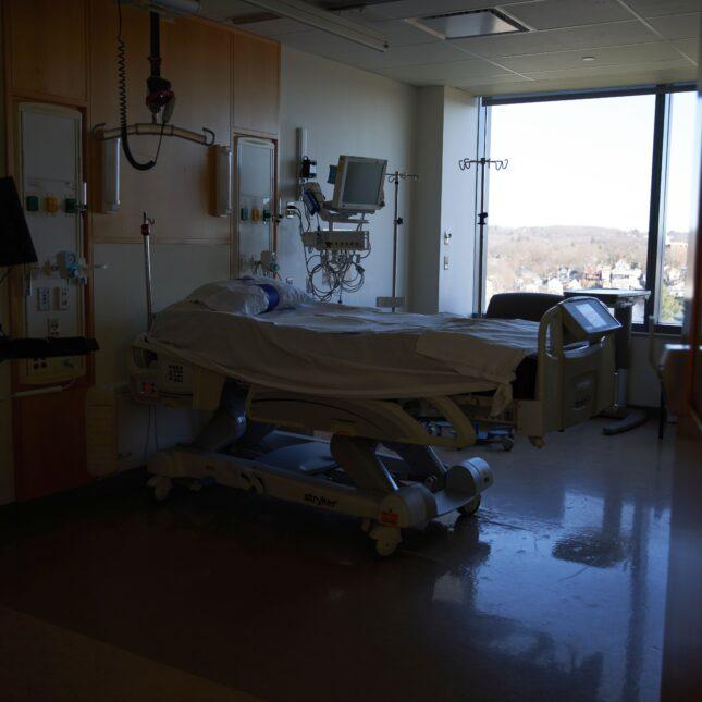 UMass Memorial Hospital bed