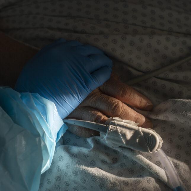 COVID-19 hospital hand
