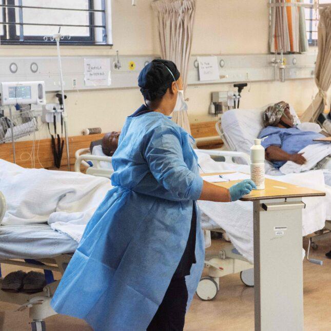 Khayelitsha Hospital, South Africa