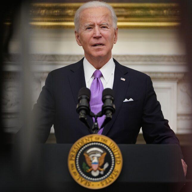 Joe Biden -- Covid-19 response