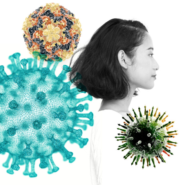 viral infection mystery