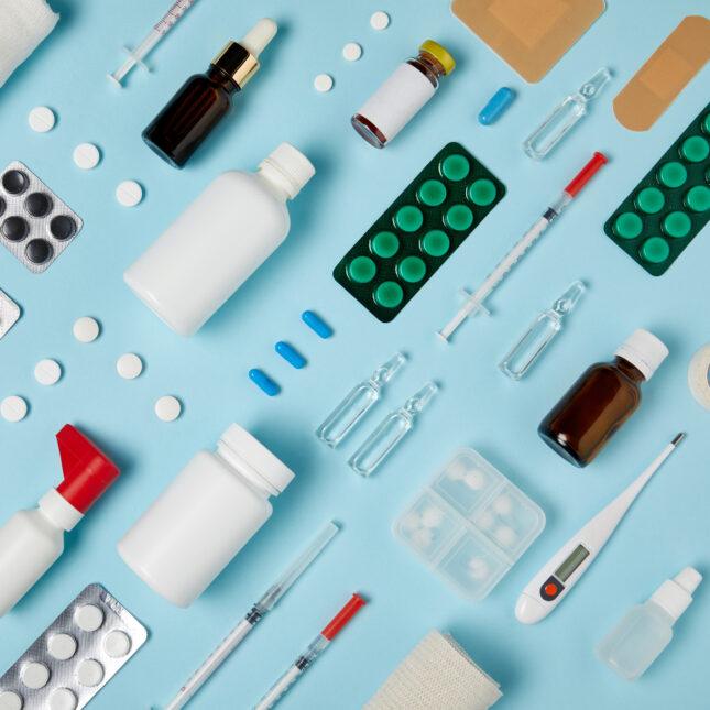 drug therapies illo concept