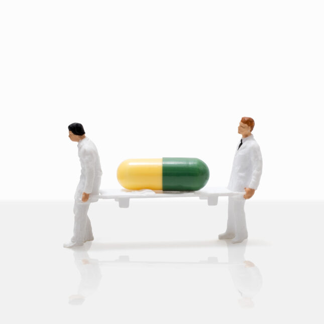 yellow & green pill ultra-rare diseases