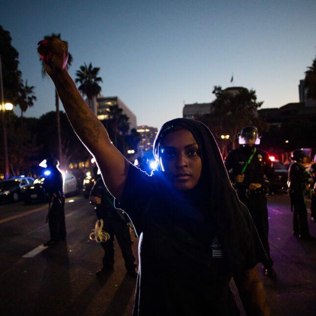 Portland protest normal