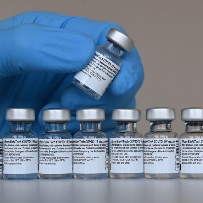 EUA Pfizer vial Covid-19 vaccination
