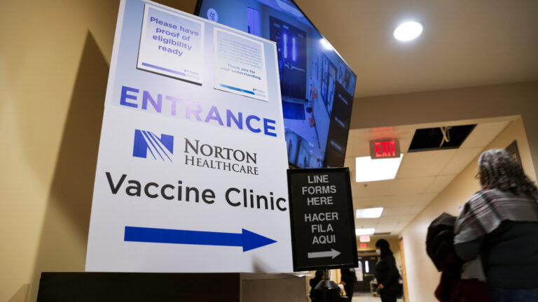 Louisville vaccination clinic