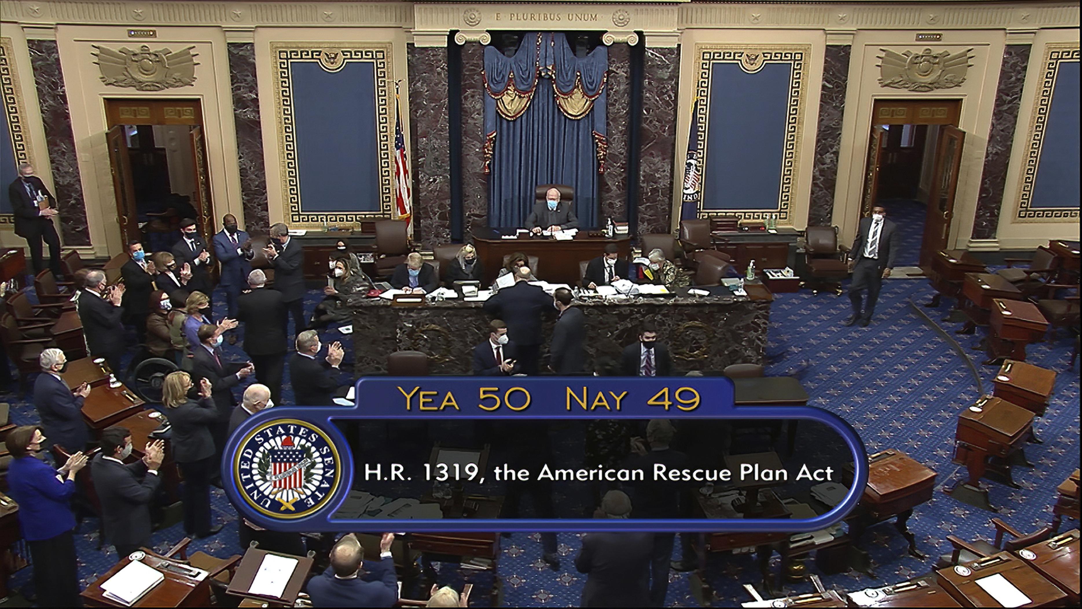 senate approves 1 9 trillion coronavirus relief bill stat