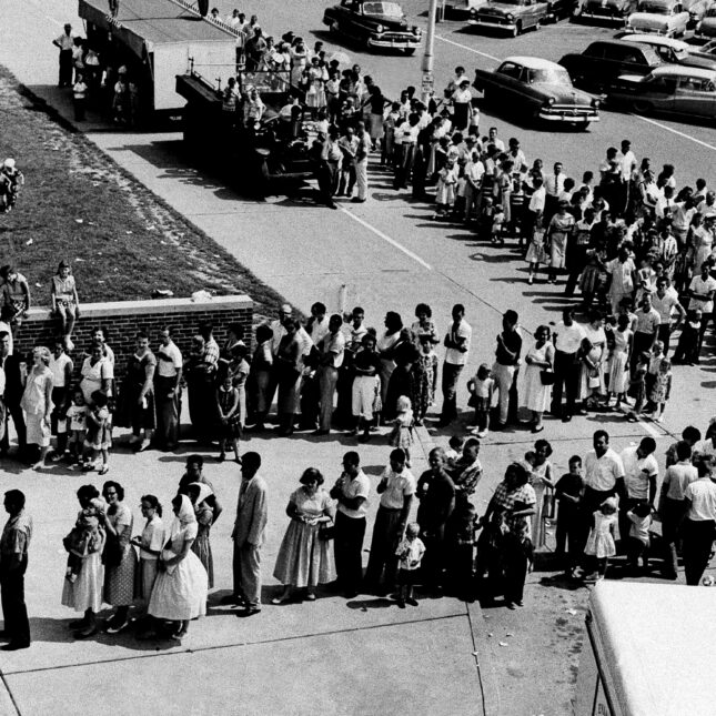 Polio Vaccine line 1959