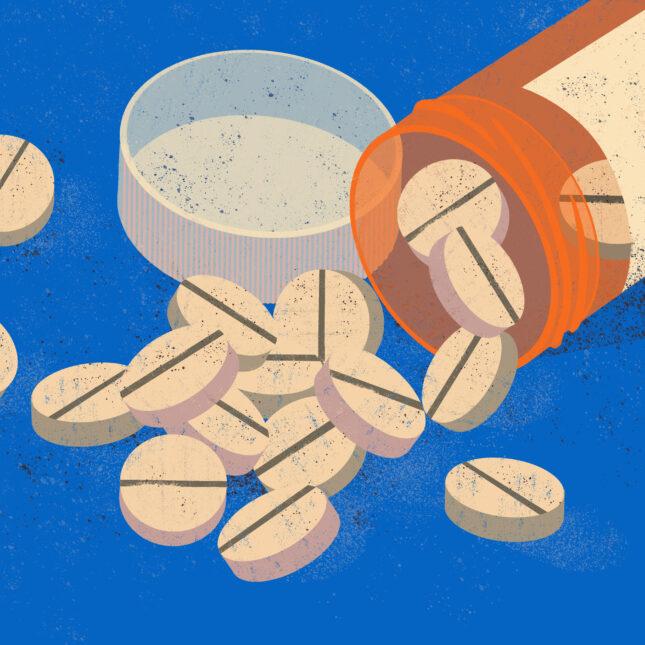 prescription pill illo