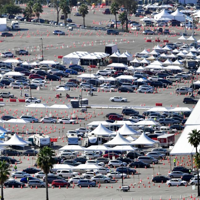 Operations research advises large vaccination sites like Dodger Stadium