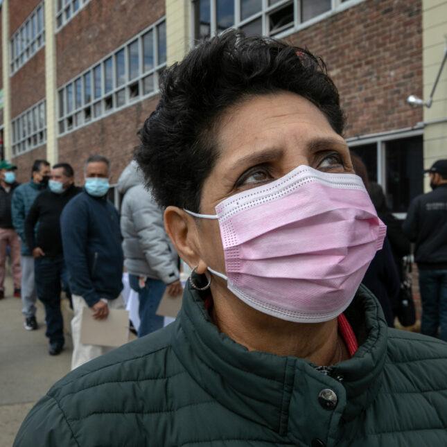 Immigrants Receive COVID-19 Vaccinations