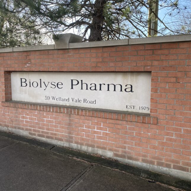 handout courtesy biolyse pharma