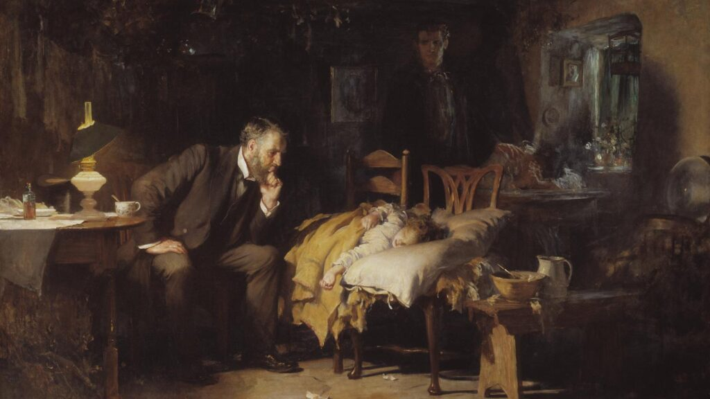 What an old painting taught me about being present as a clinician - STAT