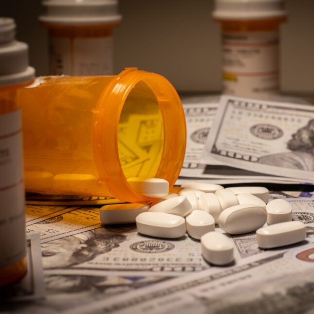Prescription meds and money