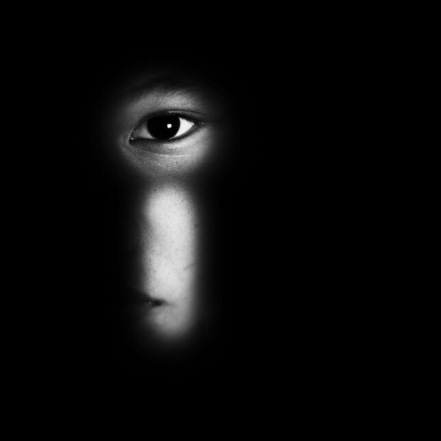 dark room/child abuse