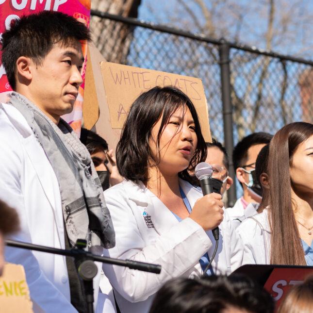 rally racism Asian American Pacific Islander