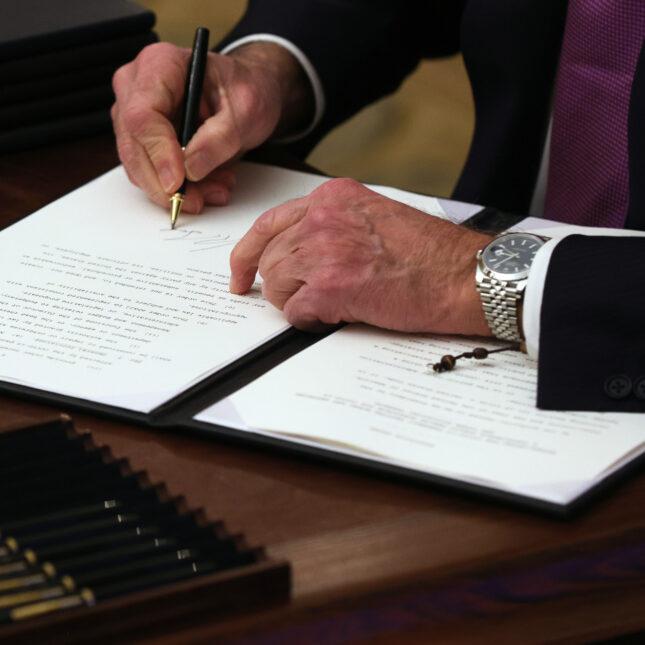 1/21 executive order