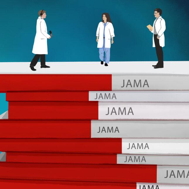 JAMA racism illo