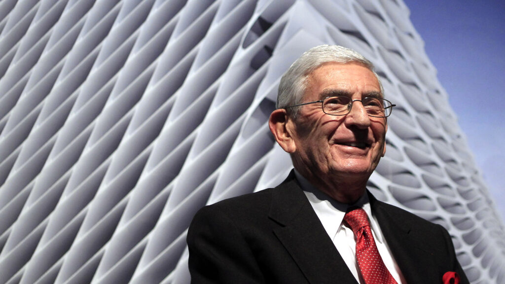 Eli Broad, whose gift established a science powerhouse, dies at 87