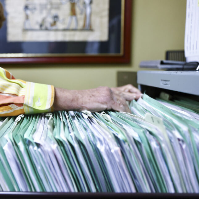Southern California Mortuary files