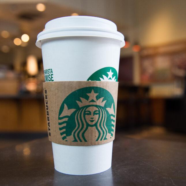 Starbucks cup organ transplants