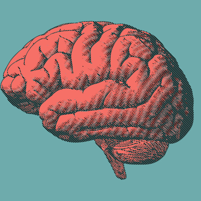 Brain illustration ALS treatment