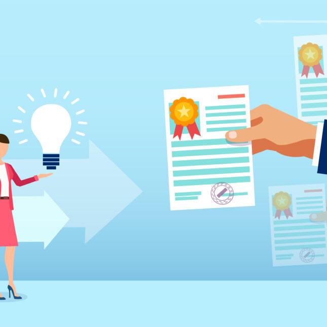 Gender disparities in patents illo
