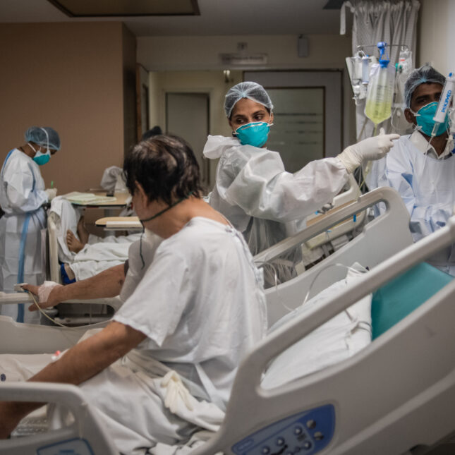 ICU in New Delhi India