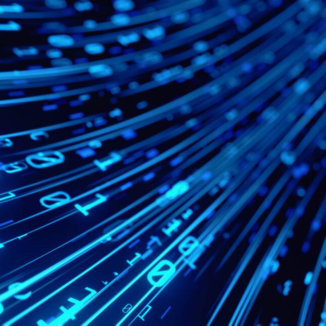 blue computer data