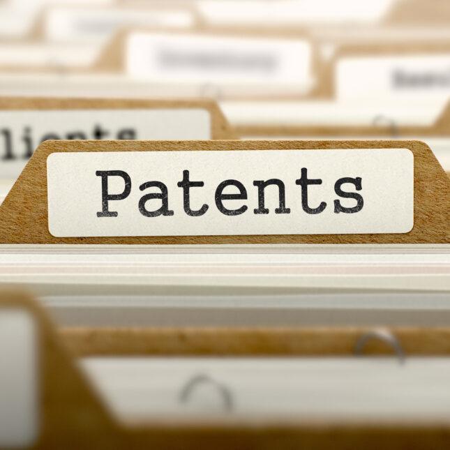 Patent folder