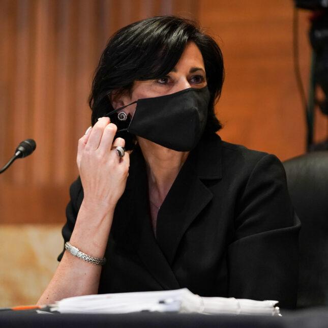 Rochelle Walensky mask