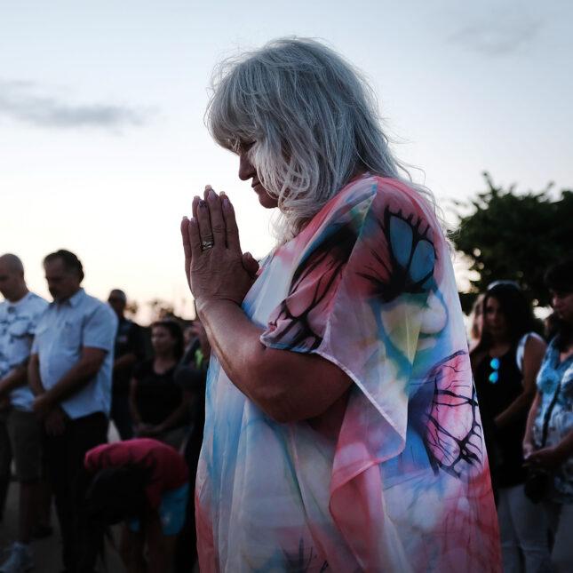 opioid candlelight vigil
