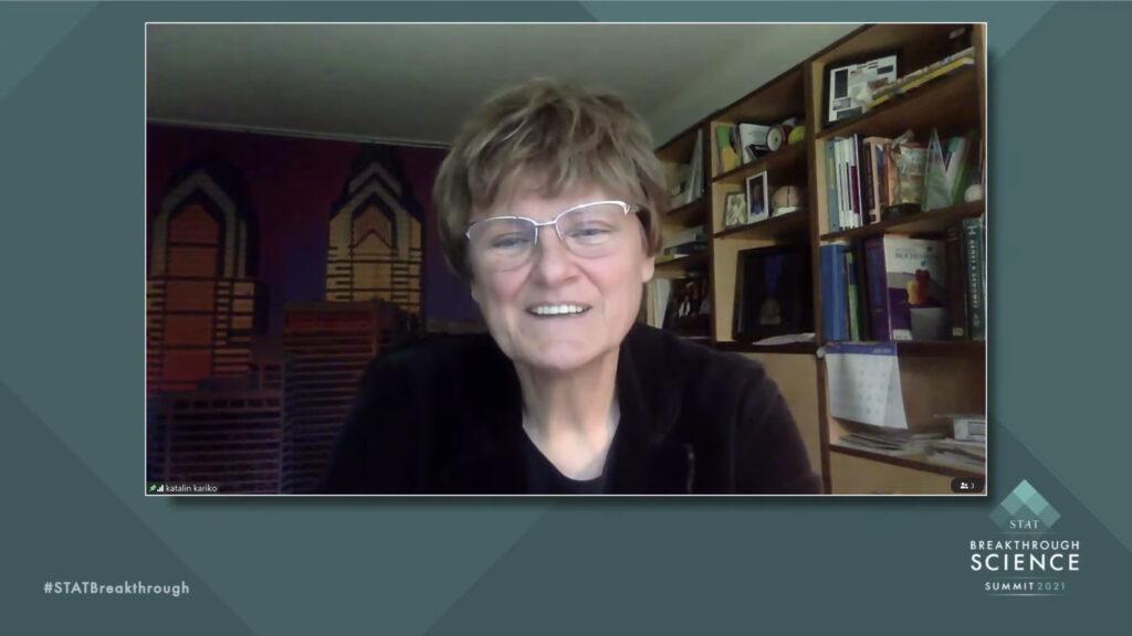 Messenger RNA vaccine pioneer Katalin Karikó shares her long journey