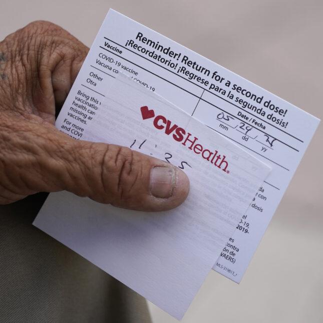 Florida vaccination card