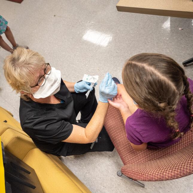 covid testing children