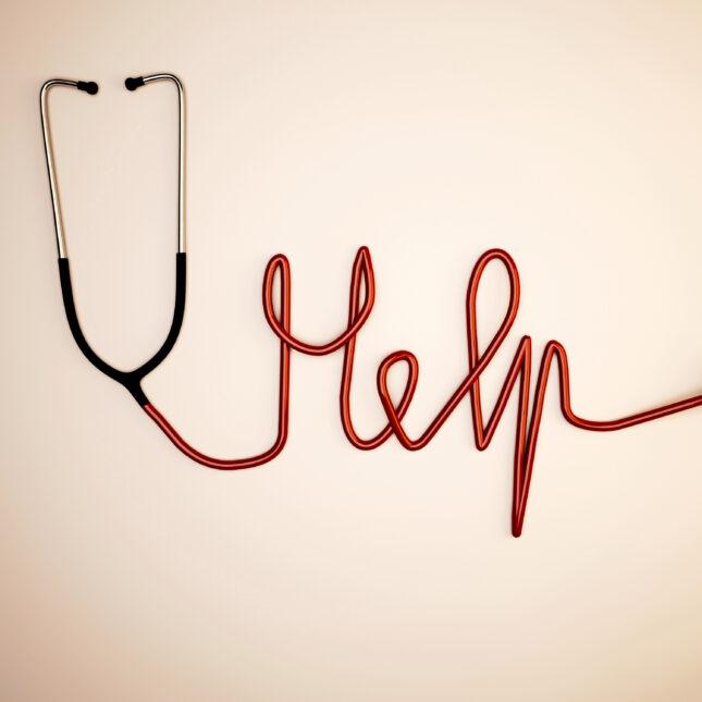 stethoscope help illo